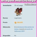 Imagen dragón murciélago de adopt me roblox ponianoel