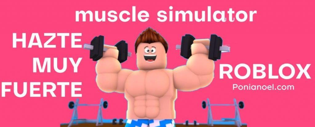 MUSCLE SIMULATOR ROBLOX