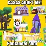 casas en adopt me! roblox ponianoel