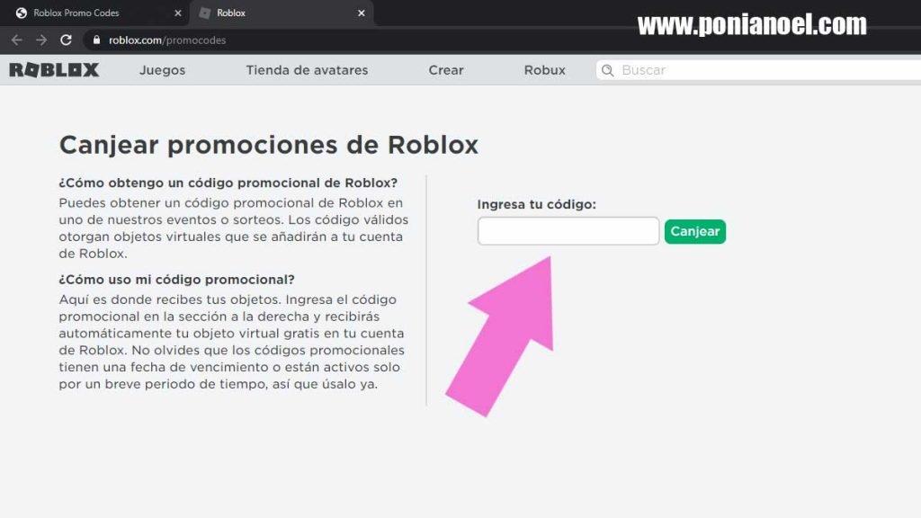 formulario roblox promocodes
