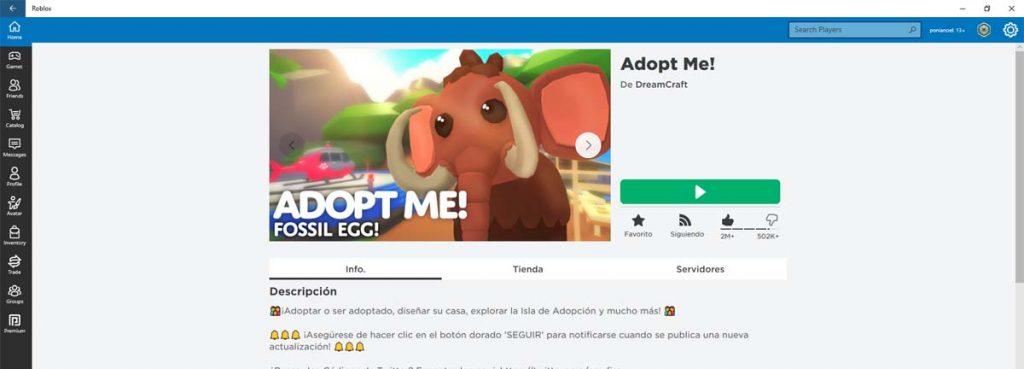 imagen adopt me roblox ponianoel